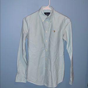 Ralph Lauren button down shirt size extra small